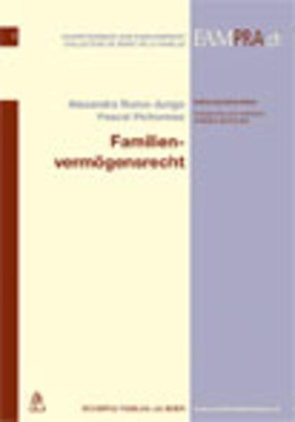 Familienvermögensrecht - Coverbild