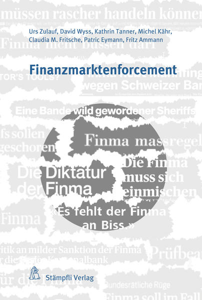 Finanzmarktenforcement - Coverbild