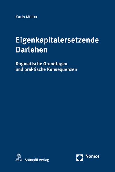 Eigenkapitalersetzende Darlehen - Coverbild