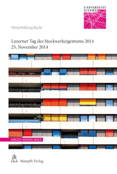 Luzerner Tag des Stockwerkeigentums 2014 - Coverbild