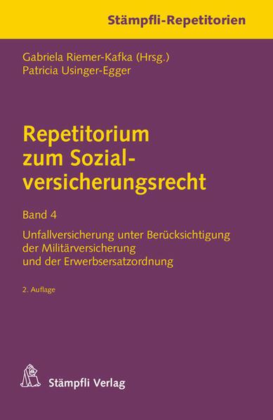 Repetitorium zum Sozialversicherungsrecht Band 4 - Coverbild