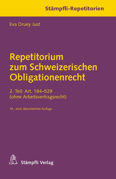 Repetitorium zum Schweizerischen Obligationenrecht - Coverbild