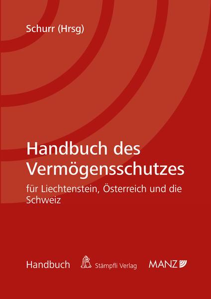 Handbuch des Vermögensschutzes - Coverbild