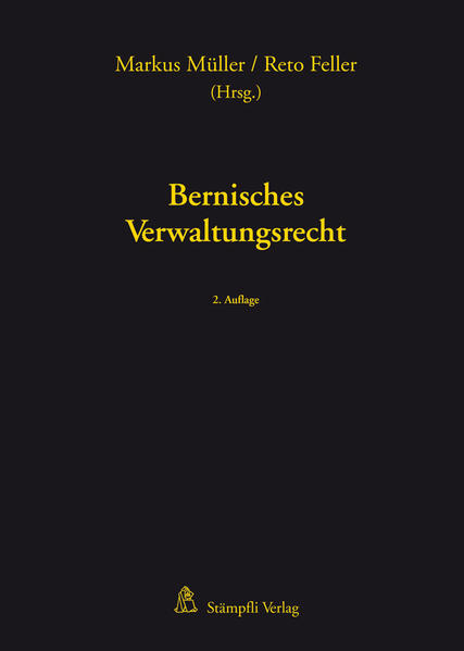 Bernisches Verwaltungsrecht - Coverbild