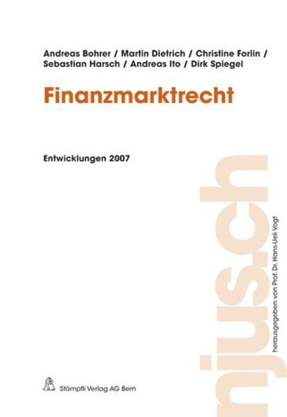 Finanzmarktrecht - Coverbild