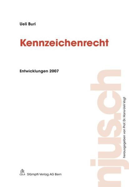 Kennzeichenrecht - Coverbild