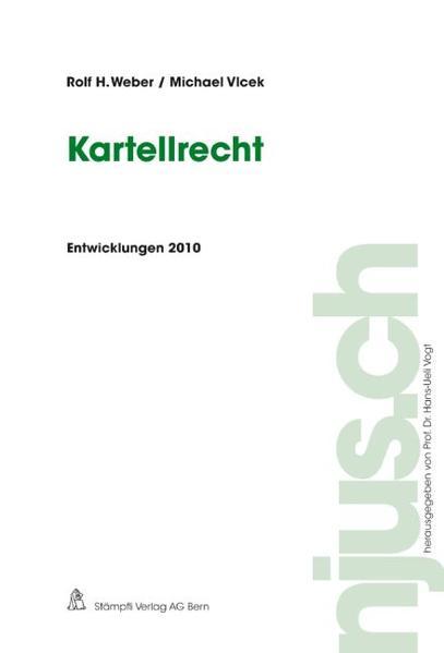 Kartellrecht, Entwicklungen 2010 - Coverbild