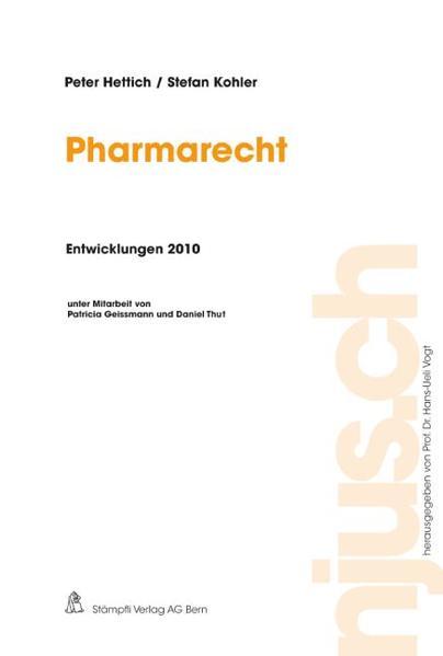 Pharmarecht, Entwicklungen 2010 - Coverbild