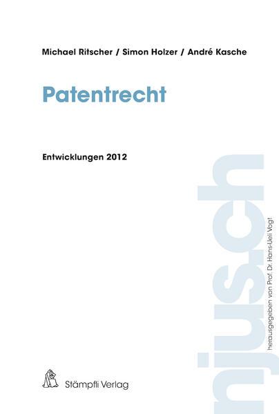 Patentrecht - Coverbild