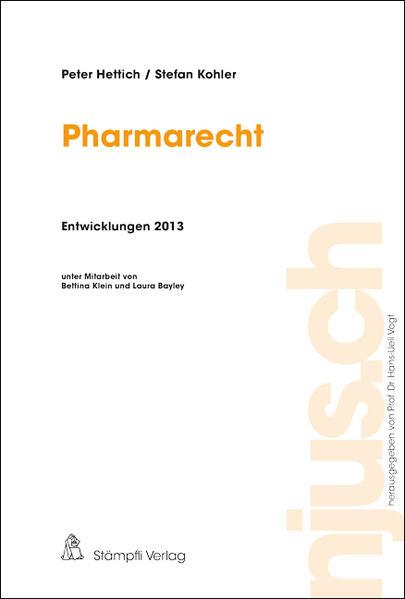 Pharmarecht, Entwicklungen 2013 - Coverbild