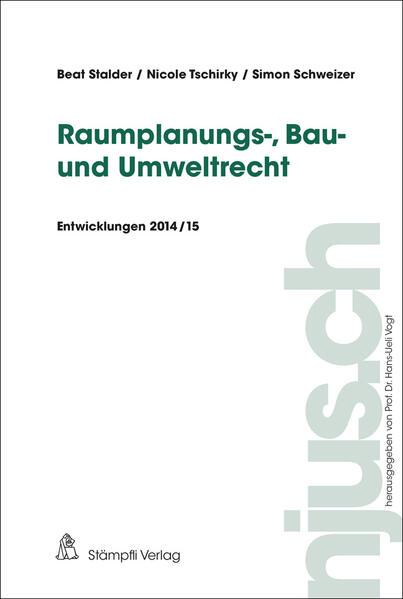 Raumplanungs-, Bau- und Umweltrecht - Coverbild