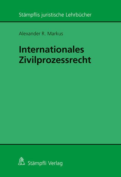Internationales Zivilprozessrecht - Coverbild
