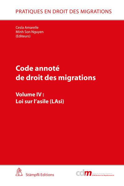 Code annoté de droit des migrations: Loi sur l'asile (LAsi) - Coverbild