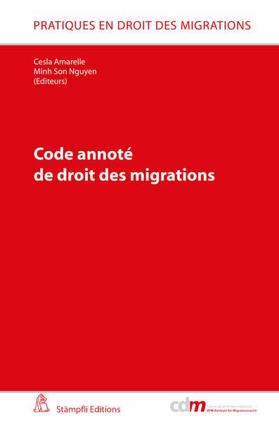 Code annoté de droit des migrations - Coverbild