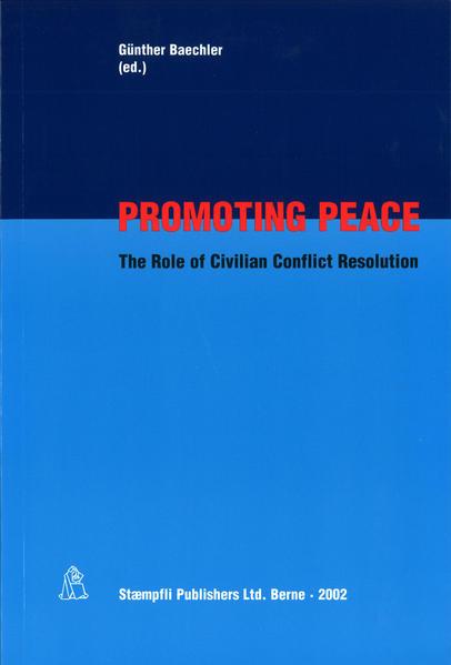 Promoting Peace - Coverbild