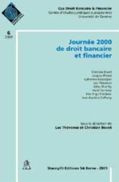 Journée de droit bancaire et financier - Coverbild