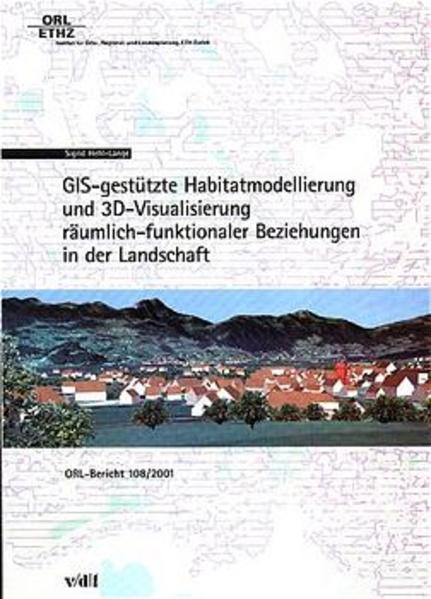 GIS-gestützte Habitatmodellierung und BD-Visualisierung - Coverbild