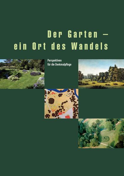 Der Garten - ein Ort des Wandels - Coverbild