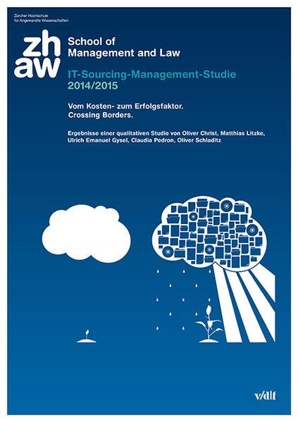 IT-Sourcing-Management-Studie 2014/2015. Vom Kosten- zum Erfolgsfaktor. Crossing Borders. - Coverbild