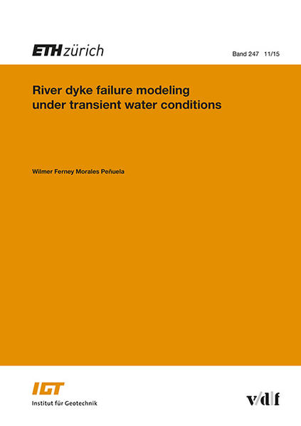 River dyke failure modeling under transient water conditions - Coverbild