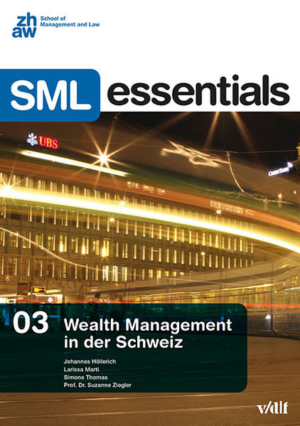 Wealth Management in der Schweiz - Coverbild
