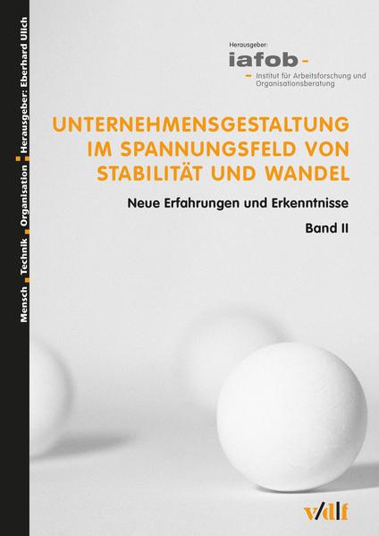Unternehmensgestaltung im Spannungsfeld von Stabilität und Wandel - Coverbild