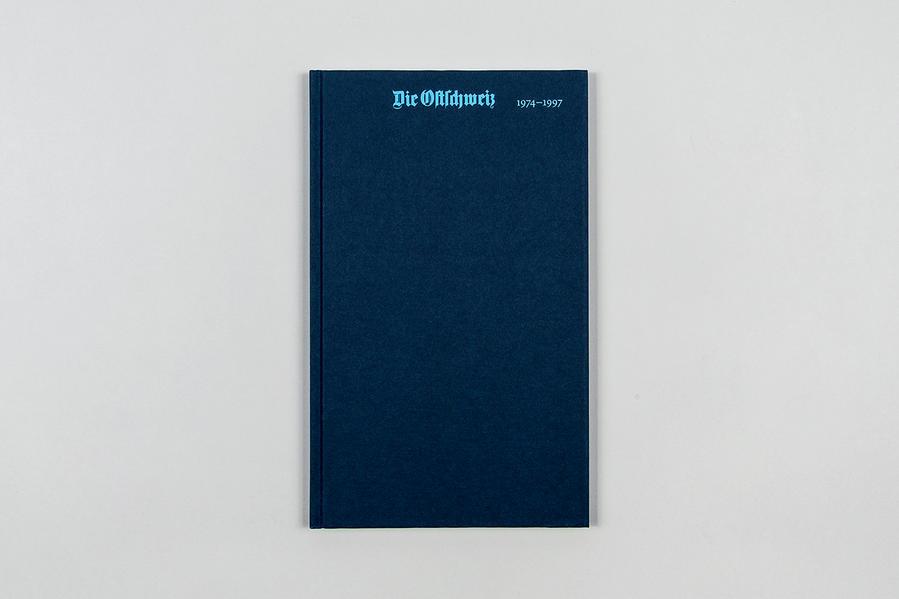 Die Ostschweiz 1974-1997 - Coverbild