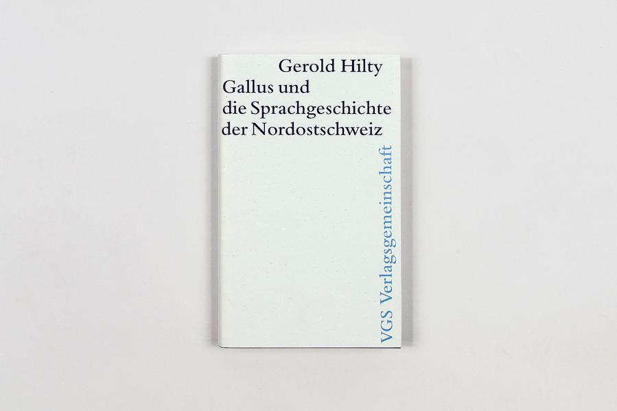Gallus und die Sprachgeschichte der Nordostschweiz - Coverbild