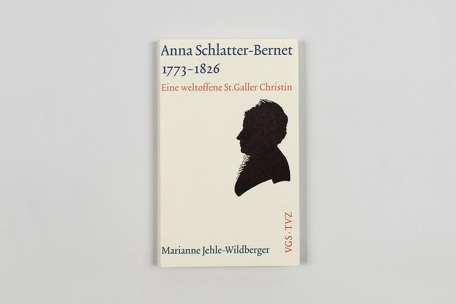 Anna Schlatter-Bernet  1773-1826 - Coverbild