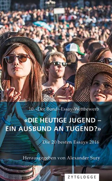 «Die heutige Jugend - ein Ausbund an Tugend?» - Coverbild
