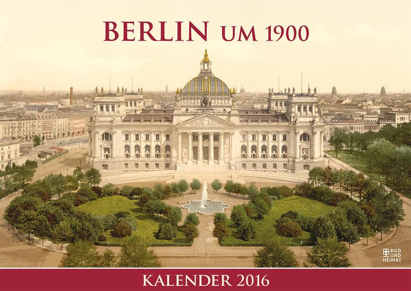 Berlin um 1900 - Coverbild