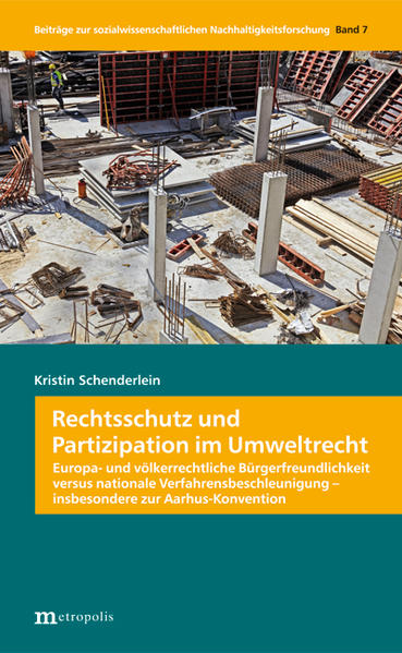 Rechtsschutz und Partizipation im Umweltrecht - Coverbild