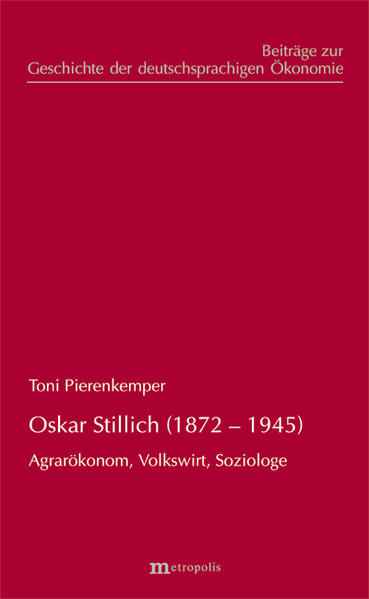 Oskar Stillich (1872-1945) - Coverbild