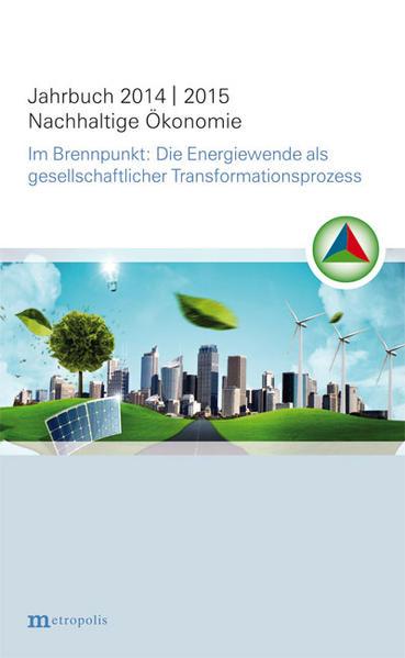Jahrbuch Nachhaltige Ökonomie 2014/2015 - Coverbild