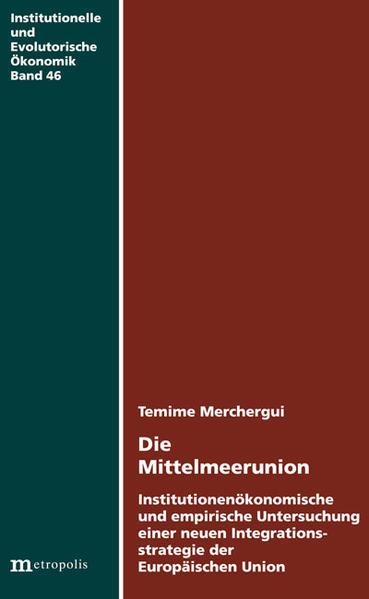 Die Mittelmeerunion - Coverbild