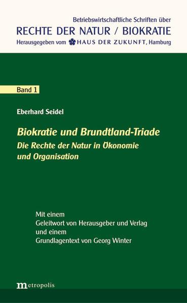 Biokratie und Brundtland-Triade - Coverbild