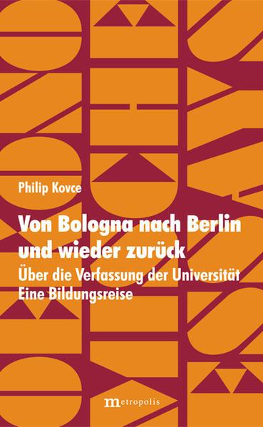 Von Bologna nach Berlin und wieder zurück - Coverbild