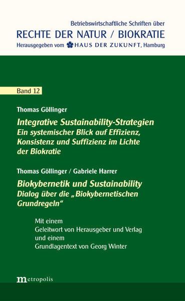 Integrative Sustainability-Strategien / Biokybernetik und Sustainability - Coverbild