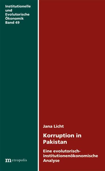 Korruption in Pakistan - Coverbild