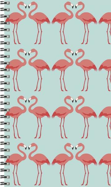 Taschenkalender Youngtimer Flamingo 2017 - Coverbild