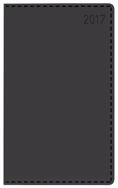 Daily Timer Compact Tizio schwarz 2017 - Coverbild