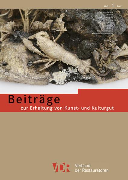 Beiträge zur Erhaltung von Kunst- und Kulturgut - Coverbild