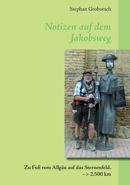 Notizen auf dem Jakobsweg - Coverbild