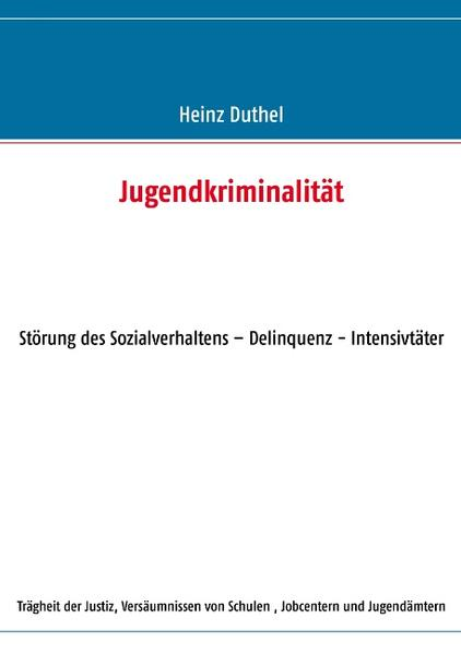 Jugendkriminalität - Coverbild