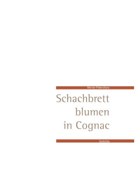 Schachbrettblumen in Cognac - Coverbild
