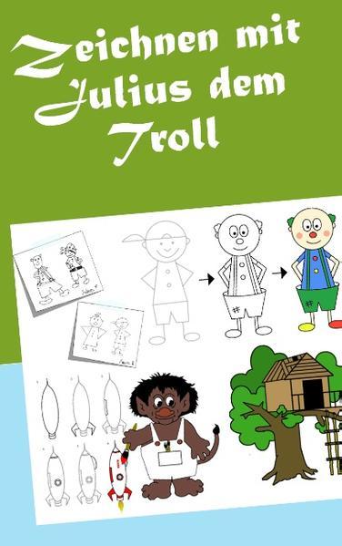 Zeichnen mit Julius dem Troll - Coverbild