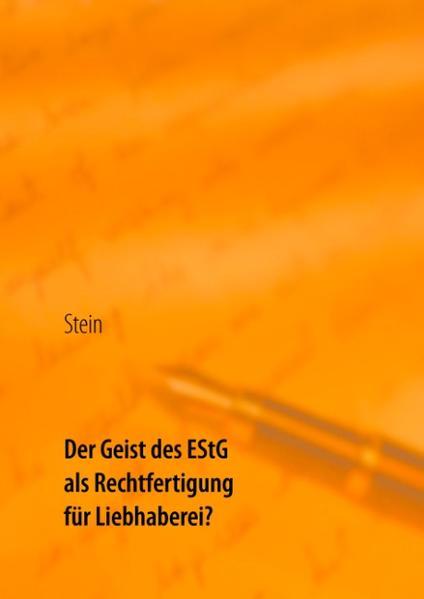 Der Geist des EStG als Rechtfertigung für Liebhaberei? - Coverbild