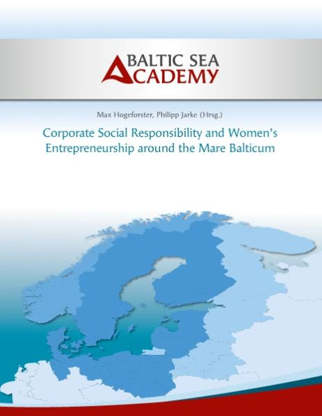 Corporate Social Responsibility and Women's Entrepreneurship around the Mare Balticum - Coverbild