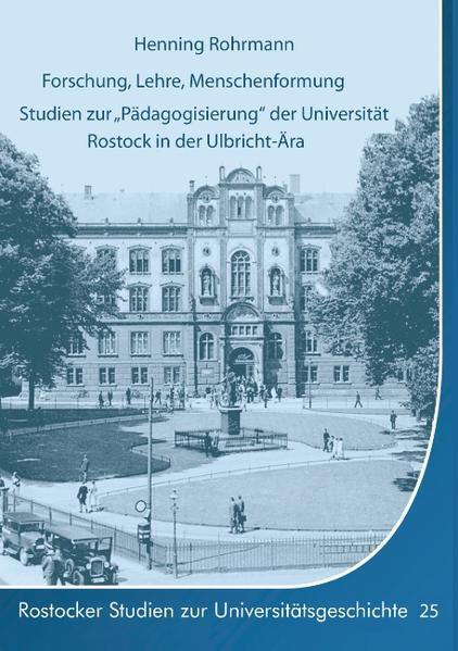Forschung, Lehre, Menschenformung - Coverbild