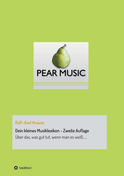 Dein kleines Musiklexikon - Zweite Auflage - Coverbild